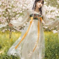 限价不能低于135 实拍汉服中国风连衣裙汉元素刺绣连衣裙